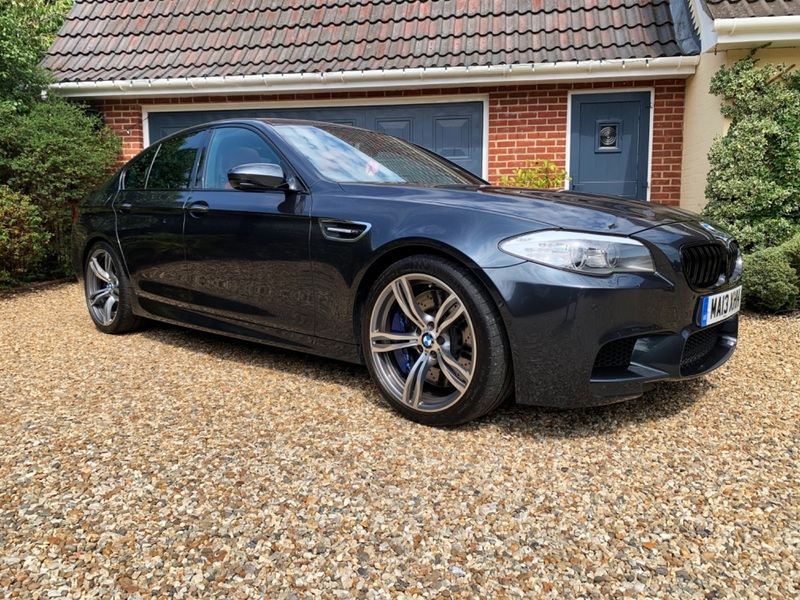 BMW M5 V8 DCT Auto Start-Stop Entry